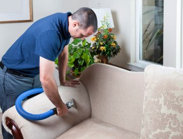 Upholstery cleaning in University Park by QuickDri Carpet & Tile Cleaning